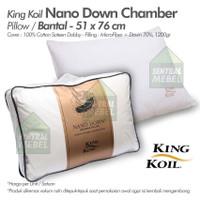 bantal king koil nano down chamber pillow - kingkoil nano down pillow
