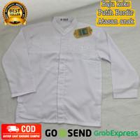 Atasan Baju koko putih Anak Murah bahan adem nyaman & berkualitas