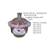 Desiccator Non Vacuum ID.24Cm RRT   Desikator