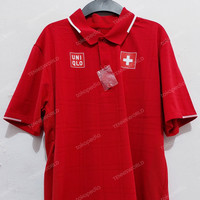 Baju Polo Tenis Uniqlo Roger Federer Suisse Olympics