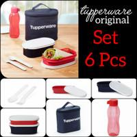 Tupperware Botol Minum Modern Kotak Makan Lunch Set Promo Murah