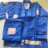 Shoyoroll Mamba Competitor BJJ GI Jujitsu Gi Baju beladiri Blue