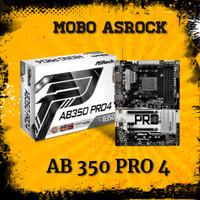 Motherboard Asrock AB350 Pro4 AM4 DDR4 for Ryzen 7 5 3 2200G
