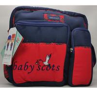 Tas Travel Bayi Baby Scots Medium ISESB012 Original - Biru