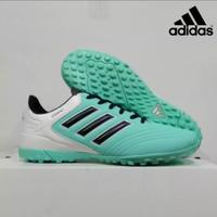 Promo Sepatu Futsal Adidas Copa Grade Ori Berkualitas Sol Grigi - toska putih, 39