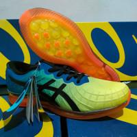 Sepatu ASICS QUANTUM GEL INFINITY Running blue green - biru hijau, 42