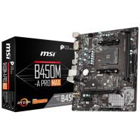 Motherboard AMD AM4 B450M-A PRO MAX MSI