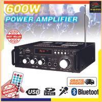 Bluetooth EQ Audio Amplifier Karaoke Home Theater FM Radio - BT-298A
