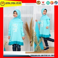 Kaos Tunik Anak / Atasan Anak Perempuan / Tunik Kaos AMMAR KIDS TA 05 - TOSCA-TA-05, S