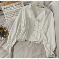 T&J~Verlin Blouse/Fashion Korea/Blouse Wanita (E)
