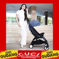 Stroller Lipat Space Baby 008 Pacific / Stroler Bayi / Kereta Dorong - Black