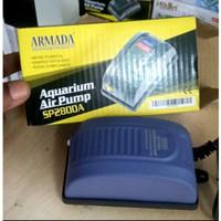 aquarium pompa udara air pump armada ar sp 2800 a 1 out put 1 lobang