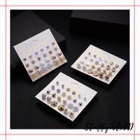 Anting Earrings SET FA51 Import Model Wanita