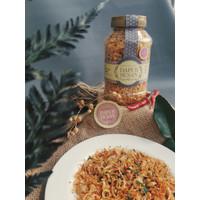 Bawang Goreng Sumenep 100g homemade murni tanpa pengawet tanpa tepung - Pedas Jeruk, 100gr