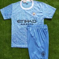 baju bola manchester city anak umur 10 tahun -11 tahun