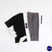 Ankle Pants Pria Ready Banyak Warna - Abu-abu, 27