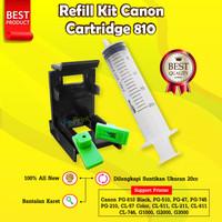 Refill Kit Canon PG 810 CL 811 CA91 CA92 Toolkit Cartridge 745s 746s