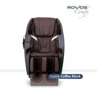 Kursi Pijat Elektrik / Massage Chair ROVOS COMFY R311 Brown Black