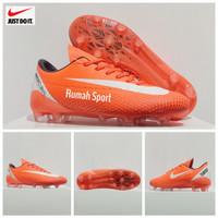 Termurah!! Ori Impor Sepatu Bola Nike Mercurial Premium - Orange, 43