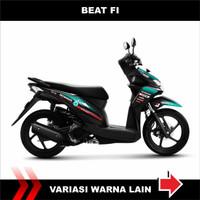 Sticker Striping variasi Honda beat Fi lama Petronas