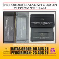 [PRE ORDER] Custom Tulisan Sajadah Travel Gumun