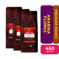 WoCA Arabika Flores 150 gram X 3 Pack