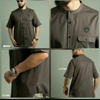 Baju Kemko Basic Pdk U-015P samase - R-003P choco, XL