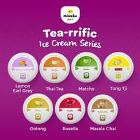 Es krim Halal Rasa Teh | Tea-rrific Series Miwaku Ice Cream Jar 125 ml