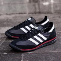 sepatu ADIDAS SL72 BLACK RED list WHITE - BLACK RED WHITE, 40