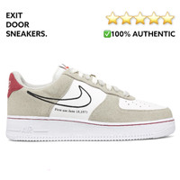 Nike Air Force 1 Low First Use - Light Stone/ Sail/ Red - DB3597-100 - 39