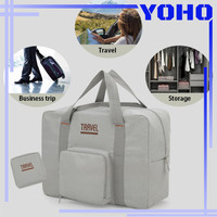 Tas Travel Foldable Waterproof Travel Storage Bag Hand Carry Tas Lipat
