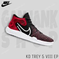 NIKE KD Trey 5 VIII EP Red/Black Sepatu Basket Pria 100% Original BNIB