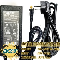 Adaptor Charger Carger Casan Original Laptop Acer Aspire 19V-3.42A