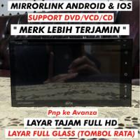 Head Unit Double Din Avanza 7 Avix support DVD Full HD AX2TVD6938FTP
