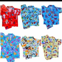 Baju Tidur / Setelan Anak Balita / Kids1-4 Tahun Laki dan Perempuan - M