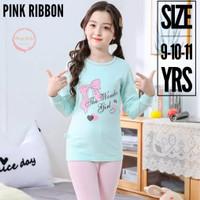 Baju Tidur anak remaja perempuan - piyama anak remaja cewek - PinkRibb