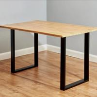meja kerja/meja kantor/kayu jati 160x60x70x3cm