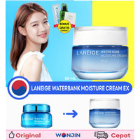 [wonjin] Laneige Water Bank Moisture Cream EX 50 ml + BONUS SACHET