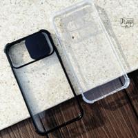 CLEAR CAMERA SLIDE CASE iPhone 6 7 8 PLus X XS MAX XR 11 12 PRO MAX