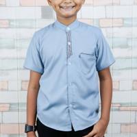 Kemko anak - Baju kemeja anak - Baju anak laki-laki usia 6-11 Tahun