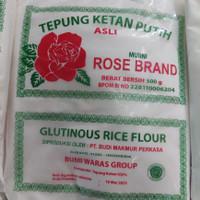 tepung ketan putih rose brand