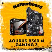 Mobo Aorus B360 Gaming 3 WiFi Gigabyte For Coffelake Gen 9 8 Intel