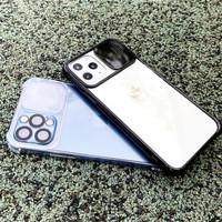 CLEAR CAMERA SLIDE CASE iPhone 12 12 PRO MAX 12 MINI
