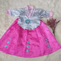 hanbok anak baju adat tradisional korea kostum costume oct01a
