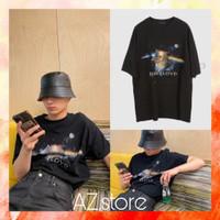 Kaos tshirt pria ENHYPEN JAY PINK FLOYD - Kaos K-pop - free PC - Hitam, S