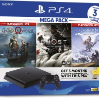 PS4 Playstation 4 Slim 1TB Megapack Mega Pack Garansi Sony Indonesia