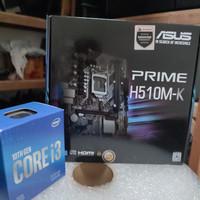 Paket Intel Core i3 10100F + ASUS PRIME H510M-K + (Intel LGA 1200)