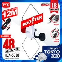 ANTENA DiGiTAL TV DVB-T2 iNDOOR/OUTDOOR LUAR/DALAM PX HDA-5000/HDA5000