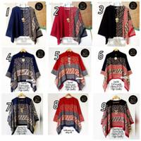 BATWING TOP# Atasan batik Blouse Batwing Katun Paris size Jumbo ori Ba