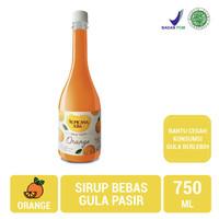 Tropicana slim syrup orange 750ml